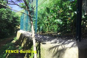 build fence in lake atitlan