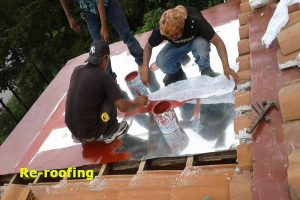 roof maintenance, lake atitlan