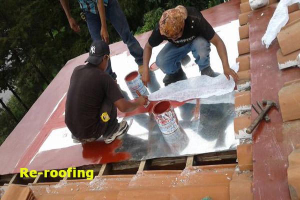 roof maintenance, lake atitlan